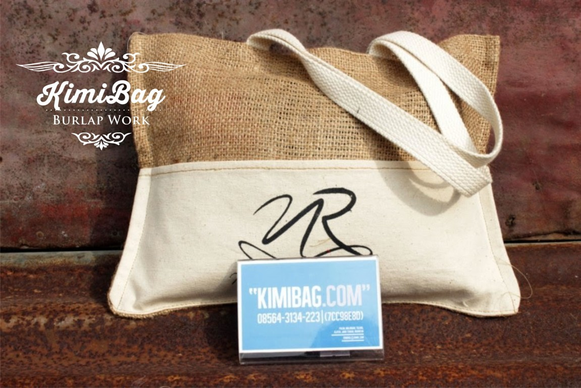 Burlap Goody Bag