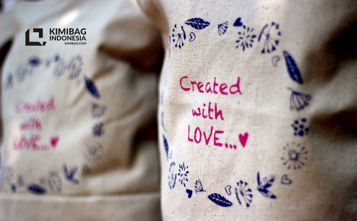 Created with Love Bag