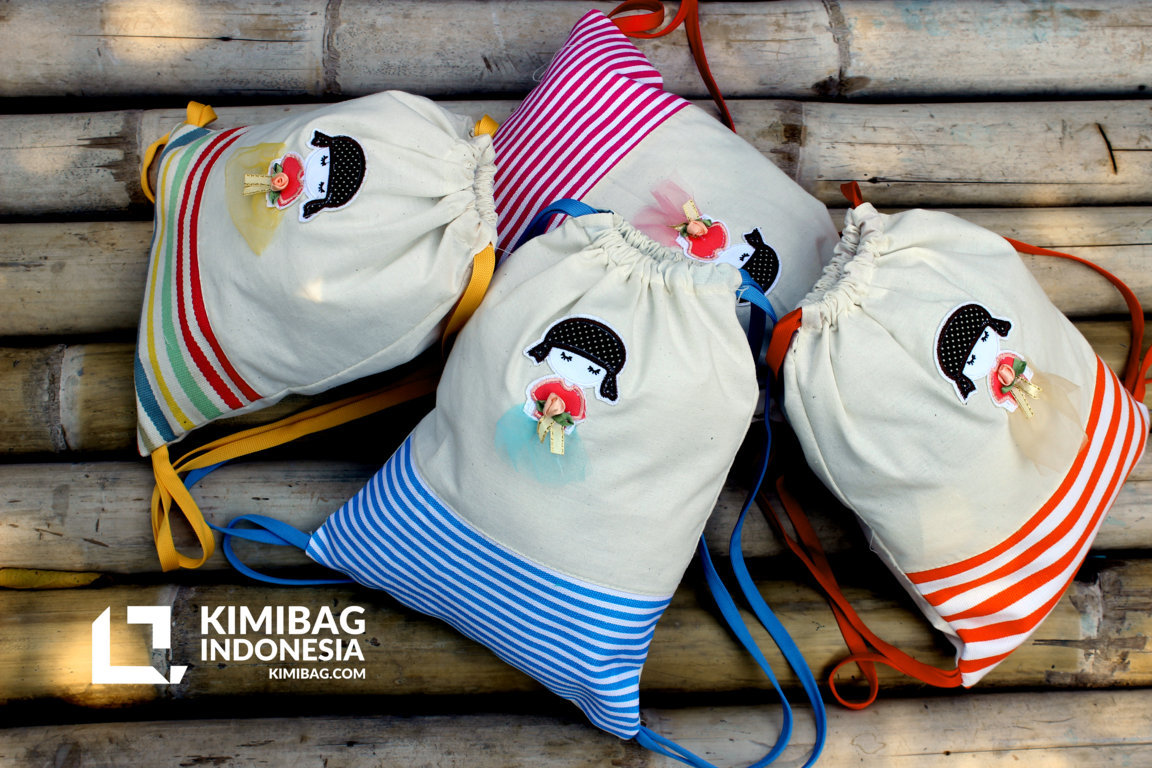KIMIBAG - sabina kids drawstring