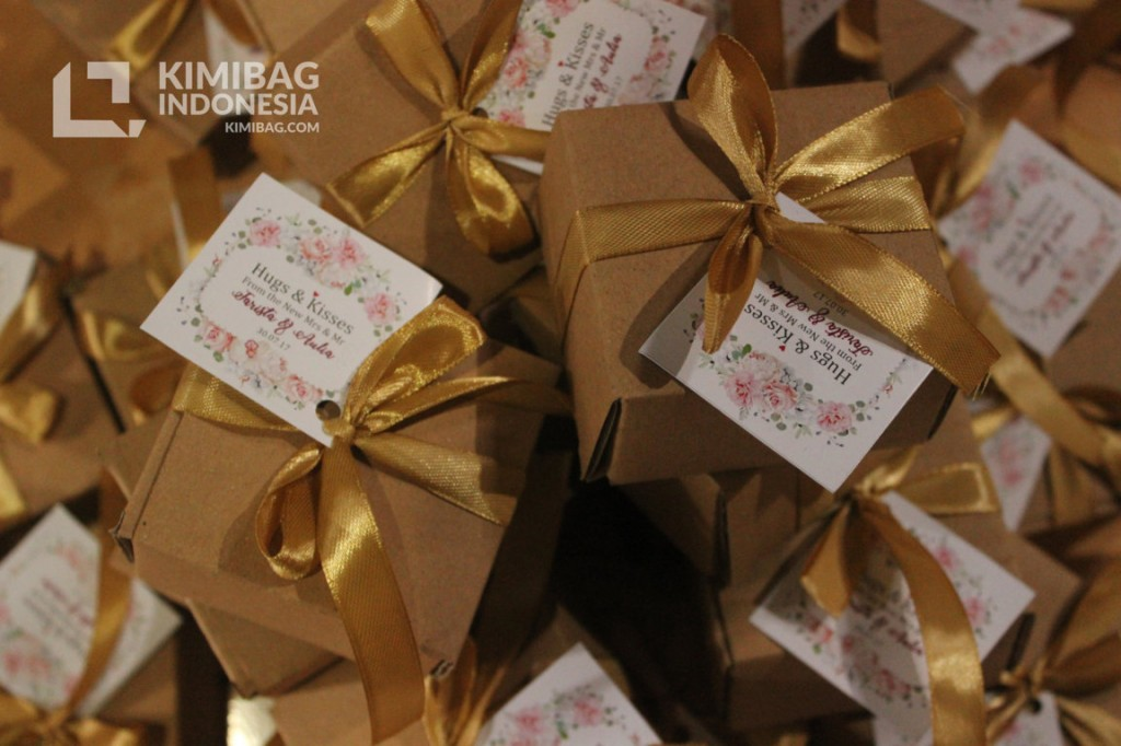 KIMIBAG - Plain Rustic Box Favors