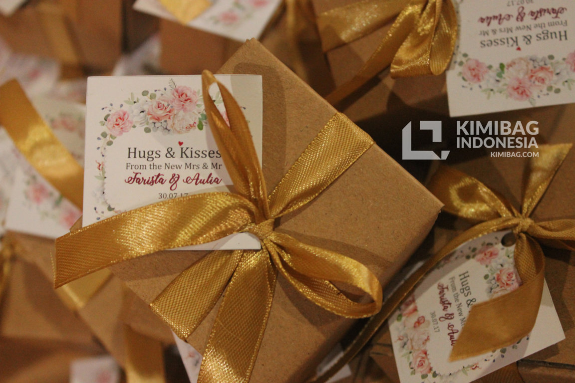 Rustic Box favors