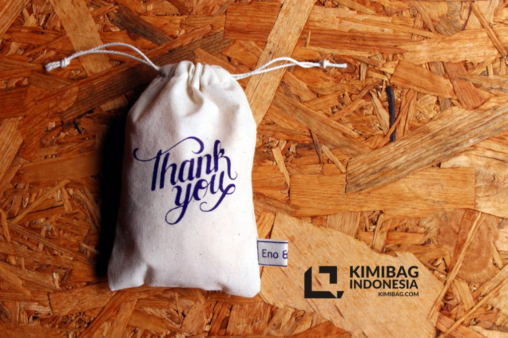 KIMIBAG Thankyou Greeting Pouch Project