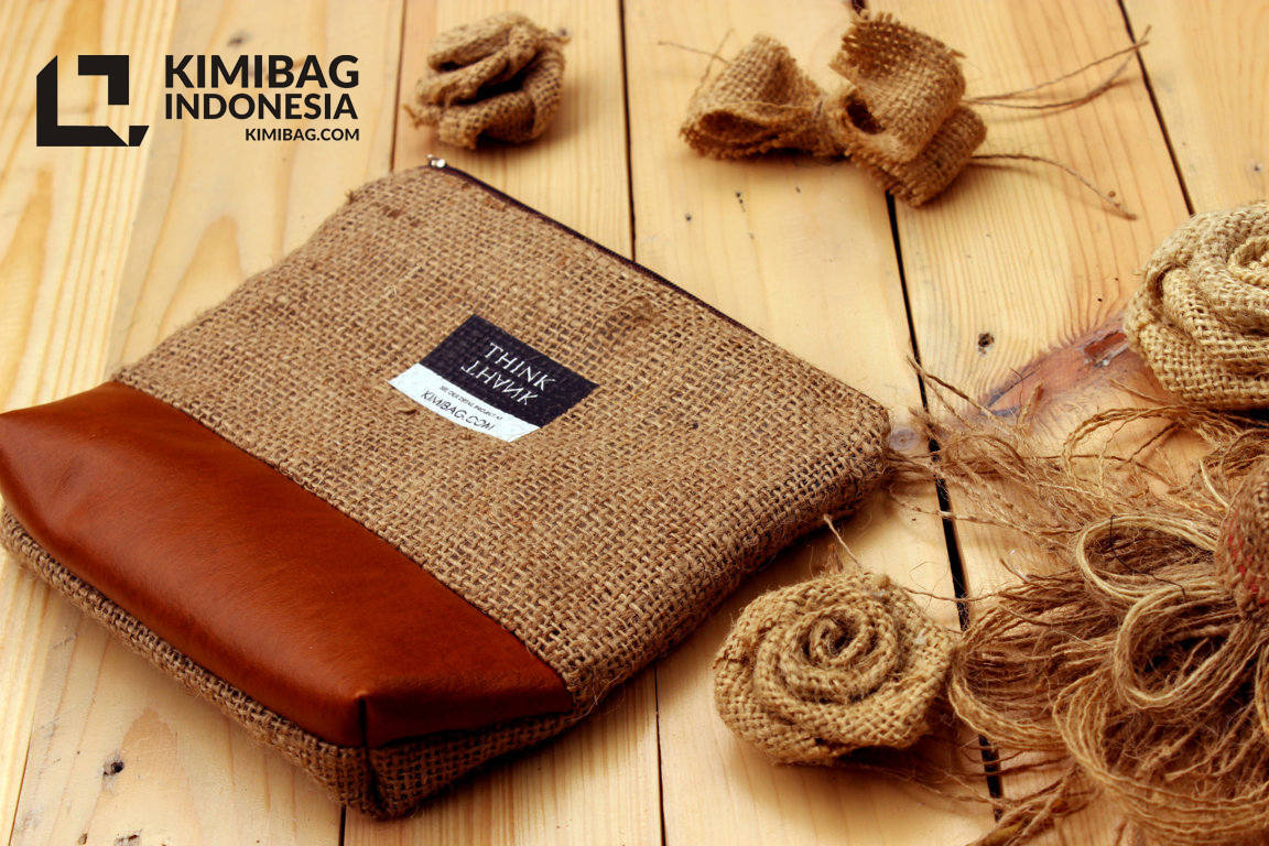KIMIBAG Think Thank Burlap Wallet Project
