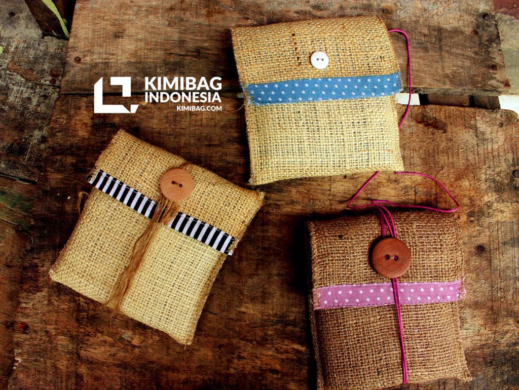 KIMIBAG Various Rustic Burlap Sleeve
