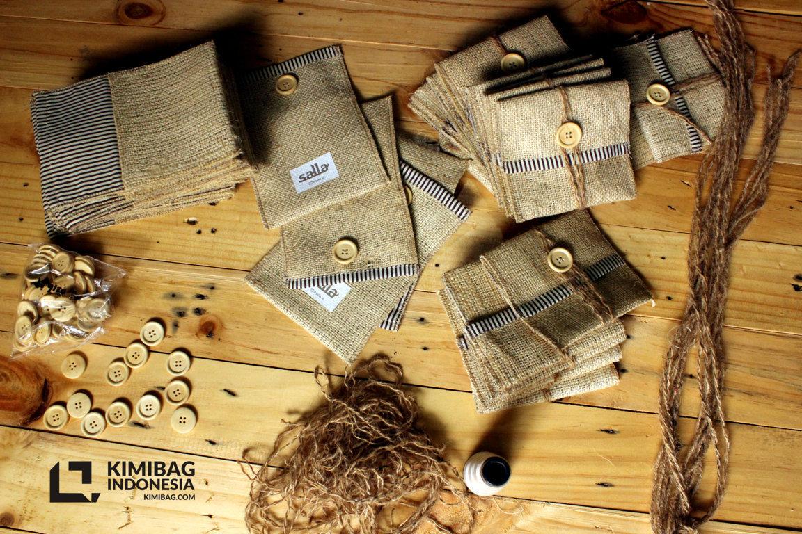 KIMIBAG INDONESIA - SALLA BURLAP SLEEVE KIMIBAG INDONESIA