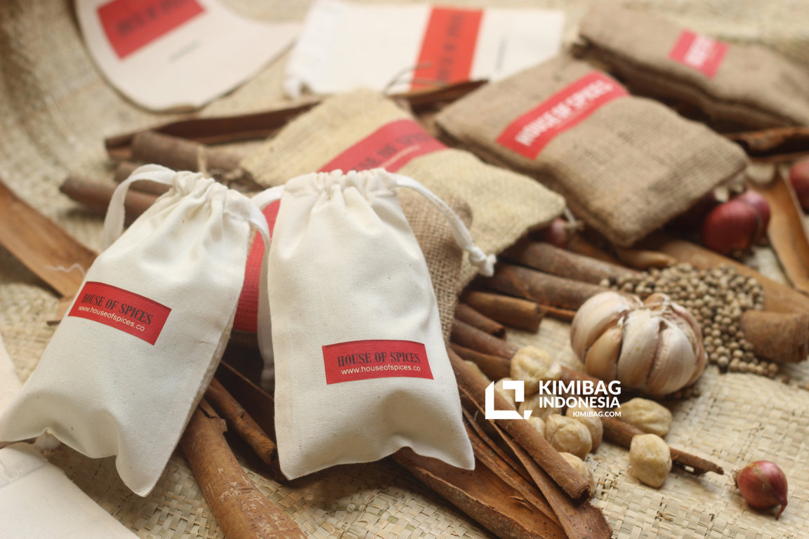 natural canvas spices packaging