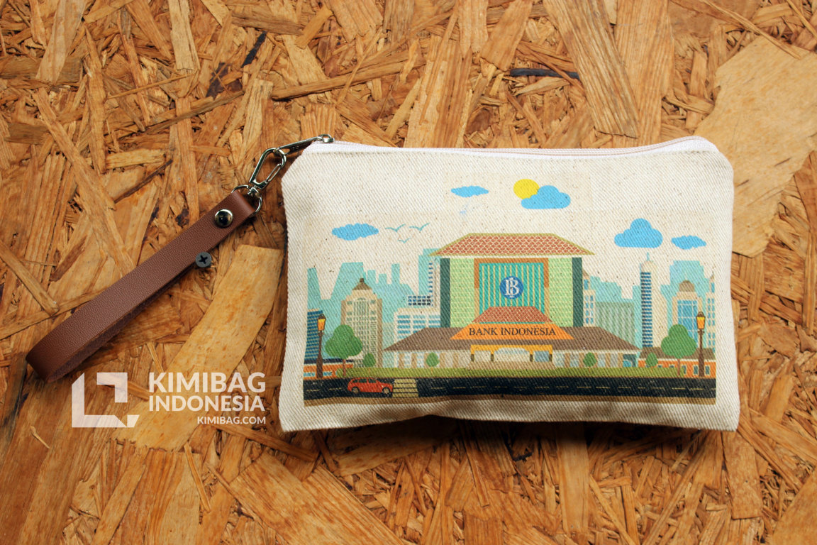 KIMIBAG CUSTOM WALLET - BANK INDONESIA SEMARANG