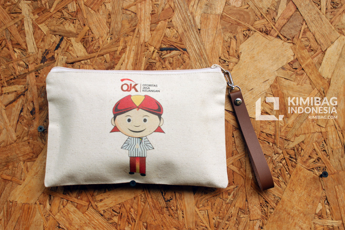kimibag canvas work - blankon OJK wallet