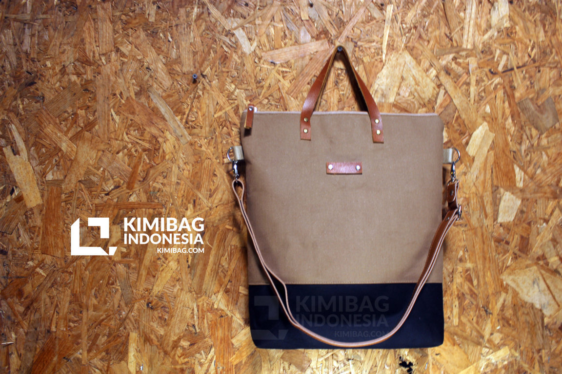 Canvas Tote Bag and Sling Bag