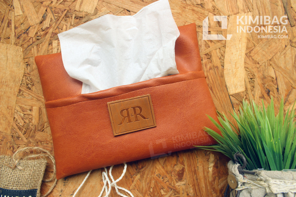 Leather Tissue Holder